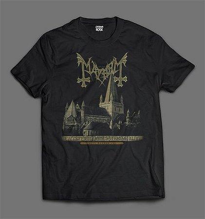 Camiseta - Mayhem - De Mysteriis Dom Sathanas