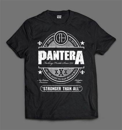 Camiseta Panteras - Stronged Than All