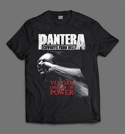 Camiseta - Pantera - Vulgar Display of Power.