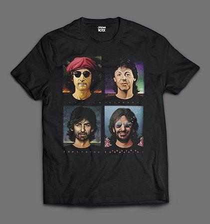 Camiseta - The Beatles- Foto.