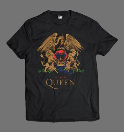 Camiseta - Infantil - Queen - 40Years