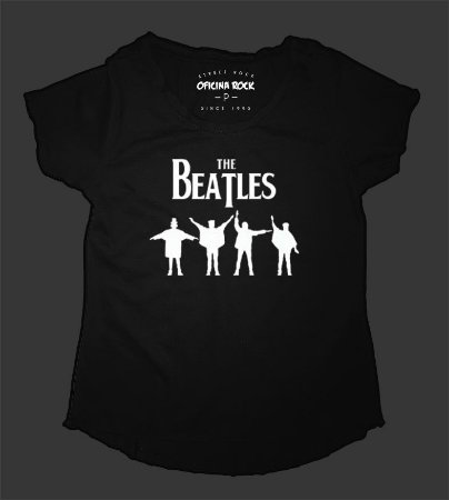 Camiseta - Bata Feminina - Beatles