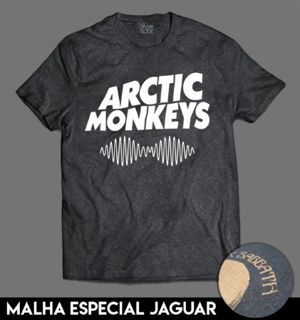 Camiseta Especial - Arctic Monkeys