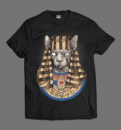 Camiseta - Cat Skull