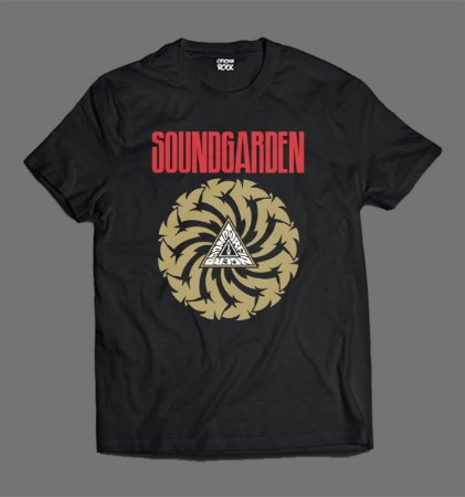 Camiseta - Soundgarden - Badmotorfinger