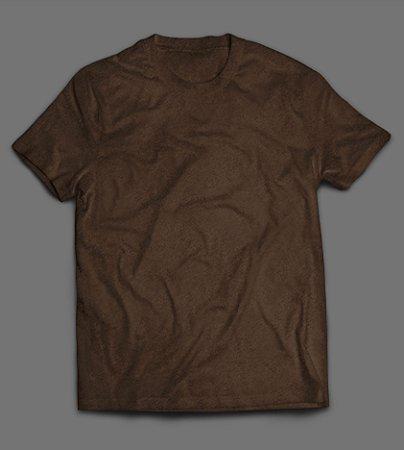 Camiseta - Lisa - Marrom