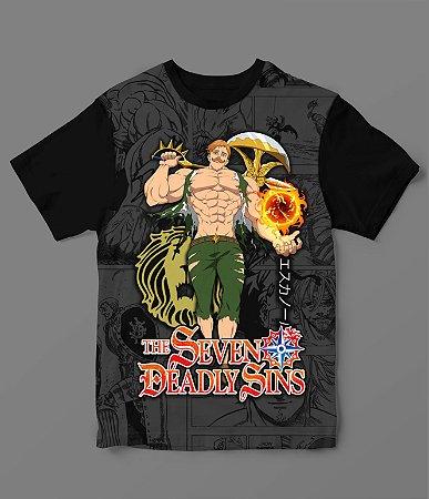 Camiseta - Nanatsu no Taizai - Escanor