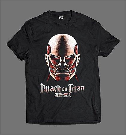 Camiseta - Shingeki no Kyojin - Attack on Titan