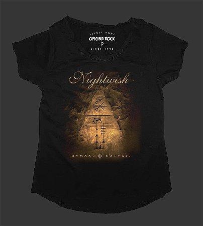 Camiseta - Bata Feminina - Nightwish Human Nature