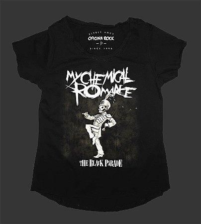 Camiseta - Bata Feminina - My Chemical Romance