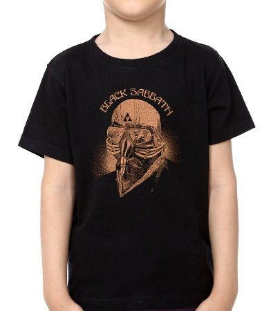 Camiseta - Infantil - Black Sabbath Tour