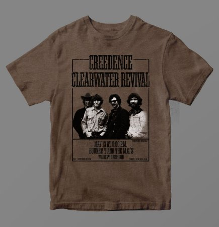 Camiseta - Creedence Clearwater Revival - Especial