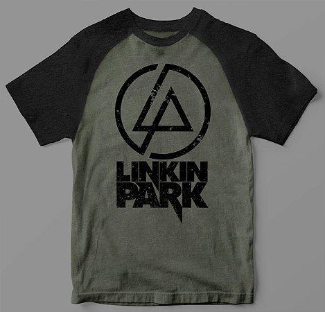 Camiseta - Linkin Park - Raglan