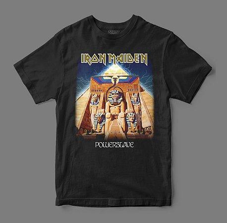 Camiseta Oficial - Iron Maiden - Powerslave