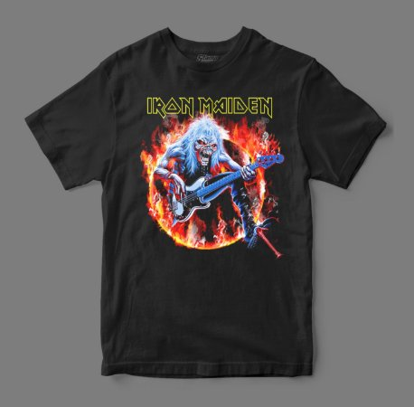 Camiseta Oficial - Iron Maiden - Rock