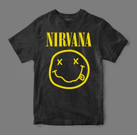 Camiseta Oficial - Estonada - Nirvana Smile