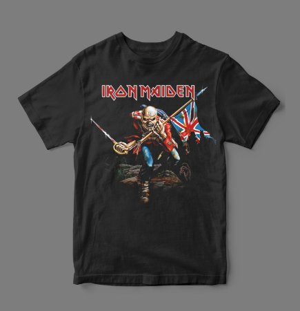 Camiseta Oficial - Iron Maiden - The Trooper
