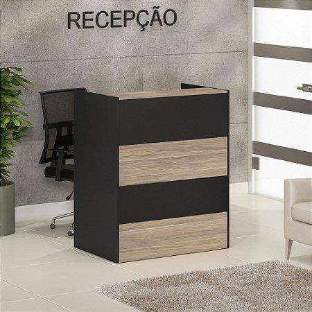 BALCAO RECEPCAO 900X600/250X750/1100 CAL PRE