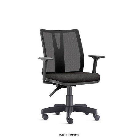 Cadeira Addit Ergonomica preta