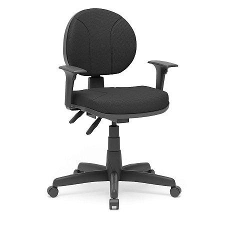 Cadeira executiva backita tecido preto