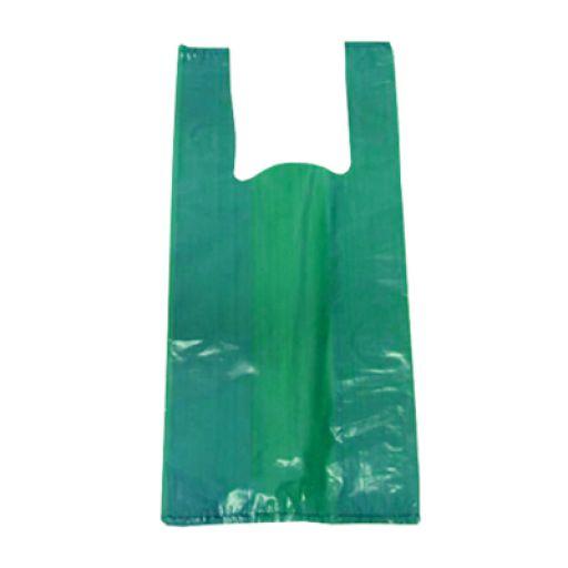 Sacola Plástica Verde 30x45cm da Napolitana é Ideal para Empacotar e Transportar Uma Imensa Variedade de Produtos, Vai da Necessidade de Seu Comércio. Sacola com Ótima Resistência, Tamanho Médio.