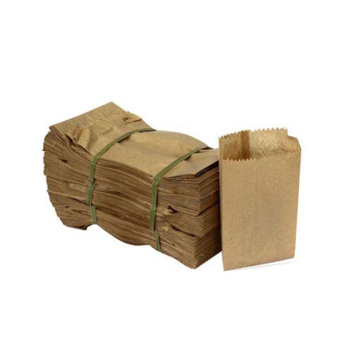 O Saco de Papel Kraft com Capacidade de 3kg da Chiara Embalagens é Ideal para Armazenar e Transportar Alimentos como Lanches Fast-Foods, Doces, Baguetes.
