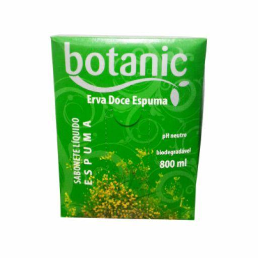 Refil Sabonete Líquido Espuma Erva Doce Botanic 800ml