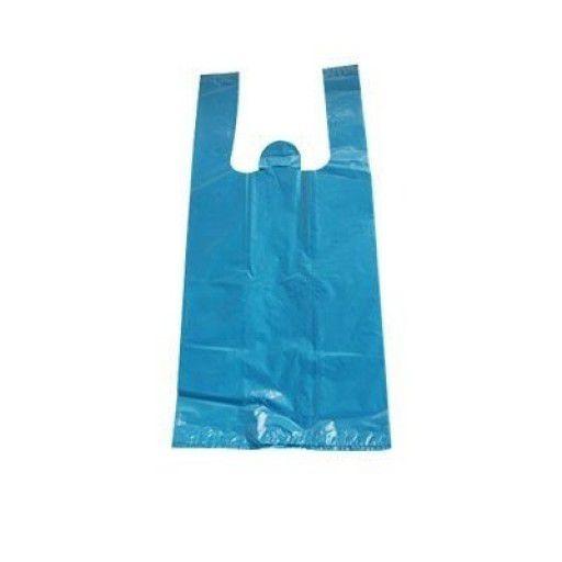 Sacola Plástica 50x60cm Azul Reforçada