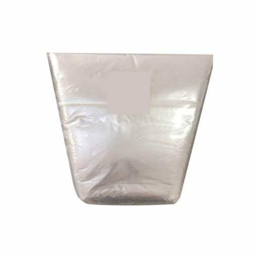 Saco Plástico Cone Transparente para Hortaliças 200x400x300mm Especial para Alface