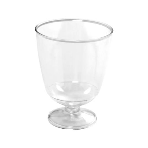 Taça Piazza Descartável 40ml Cristal Pacote com 10 Unidades - Prafesta