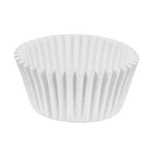 Forminha de Papel Branca Nº00 (9 cm) Pacote com 100 Unidades