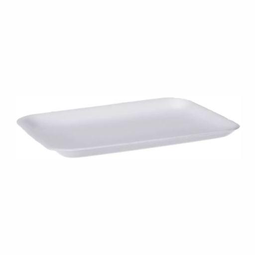 Bandeja de Isopor Branca Rasa CRL-04 (270x150x14mm)
