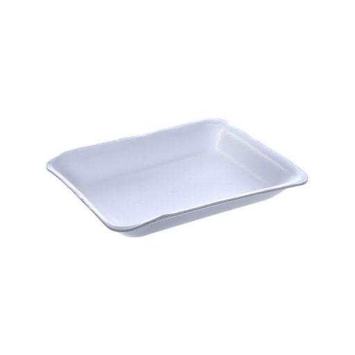 Bandeja de Isopor Branca CFL-03 (235x180x28mm)