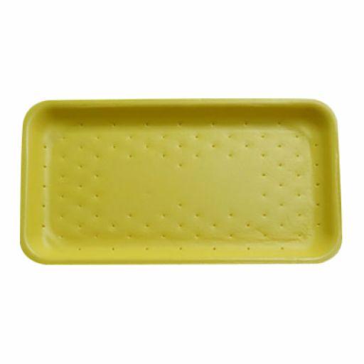 Bandeja de Isopor Absorvente Nº4 (275x150x20mm) Amarela