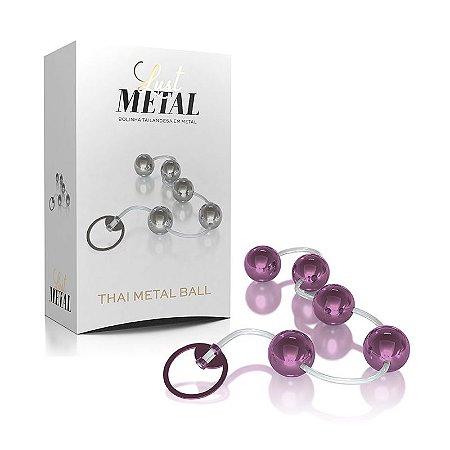 Bolinha Tailandesa de Metal