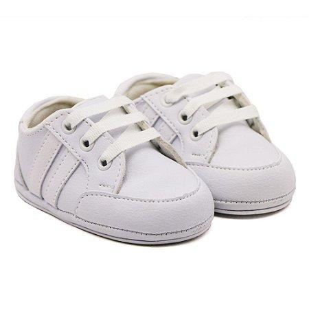 Tenis Casual Infantil Santa Fé - Primeiros Passos Branco