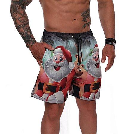 Short Masculino Use Santa Fé Papai Noel Ref. 1001