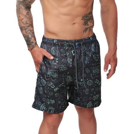 SHORT MASCULINO USE SANTA FÉ REF. 1021