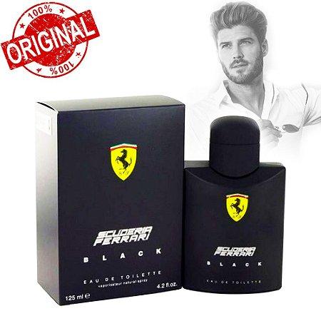 Perfume Masculino Scuderia Ferrari Black Eau de toilette - 125ml