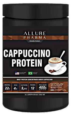 Cappuccino Protein 400g (Whey Protein Concentrado) Proteínas e Aminoácidos