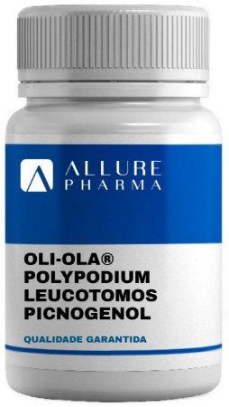 Oli-Ola™ 250mg + Polypodium leucotomos 200mg + Picnogenol 50mg