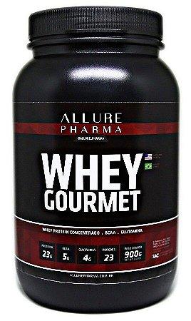 Whey Gourmet 900g (Whey Protein Concentrado) Proteínas e Aminoácidos
