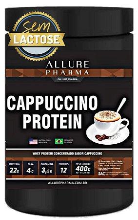 Cappuccino Protein 400g (Whey Protein Concentrado ZERO LACTOSE) Proteínas e Aminoácidos