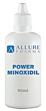 Power Minoxidil - 50ml Loção Capilar com Propilenoglicol  * Barba e Cabelos Incríveis *