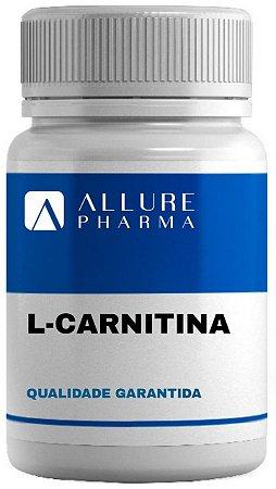 Carnitina 500mg - 120 cápsulas - Transforma Gordura em Energia
