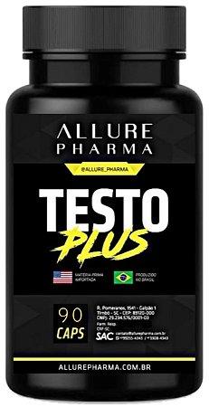 Testo Plus®️. Potencializa a produção de testosterona - 90 cápsulas