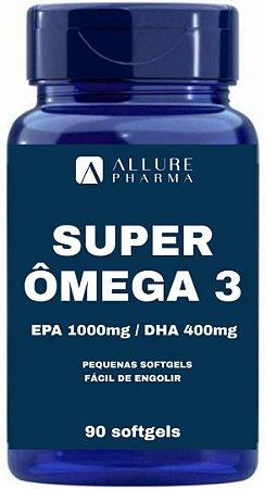 Super Ômega 3 1000mg - 90 Softgels (EPA 1000mg/DHA 400mg)