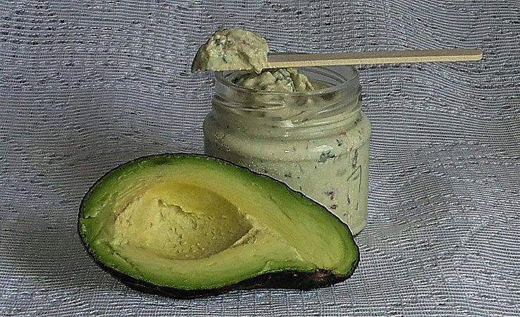 Cream Cheese de Kefir de Leite Sabor Guacamole