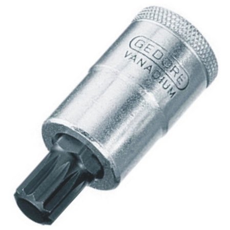 CHAVE SOQUETE MULTIDENTADA 6,0MM ENC 1/2 GE 016.710B