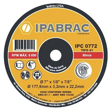 DISCO CORTE 10X1/8X5/8 2 T IPA